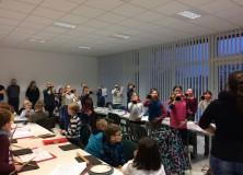 Traditionelles Kindertrainingslager in den Winterferien