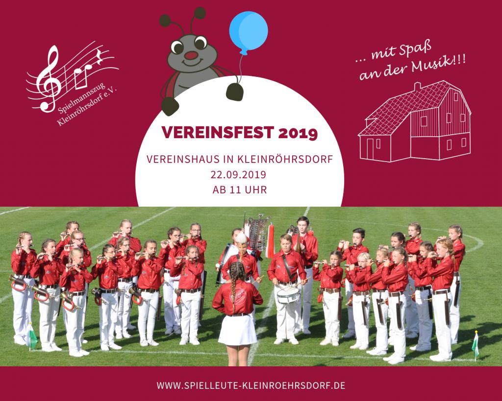 Vereinsfest 2019