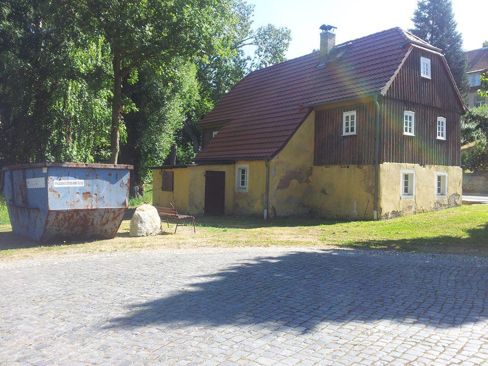 Vereinshaus in Sachsen des Spielmannszug Kleinröhrsdorf