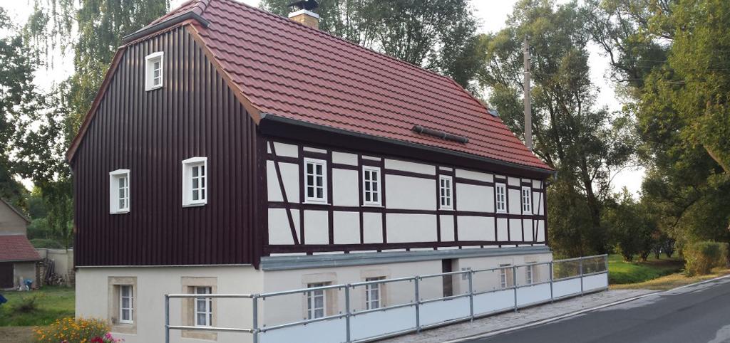 Vereinshaus in Sachsen des Spielmannszuges Kleinröhrsdorf